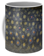 Flank Of A Brook Trout Salvelinus Coffee Mug