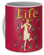 Flapper Cover, 1926 Coffee Mug