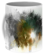 Flared Textured Palm Coffee Mug