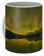 Flaring Northern Lights Coffee Mug