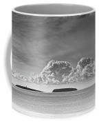 Flat Holm And Steep Holm Mono Coffee Mug