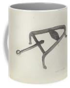 Flat Iron Holder Coffee Mug