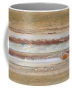 Flat Map Of Jupiter Coffee Mug