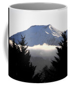 Flat Top Floating Through The Trees Coffee Mug