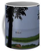 Flat Water Fishing Coffee Mug