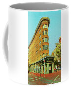 Flatiron Building In Gastown Vancouver Canada Coffee Mug by Ola Allen