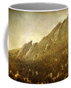 Flatiron Views  Boulder Colorado Coffee Mug