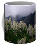 Flatirons White Lilacs Coffee Mug