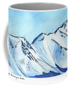 Flattop Through Ptarmigan Peak, Alaska Coffee Mug