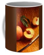 Flavorcrest Peaches Coffee Mug