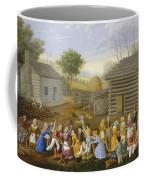 Flax Scutching Bee Coffee Mug