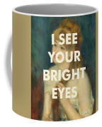Fleetwood Mac Lyrics Print Coffee Mug