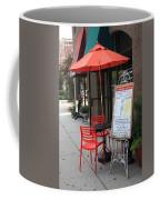 Flemington, Nj - Sidewalk Cafe Coffee Mug