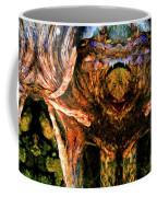 Flesh Speaks Wood Listens Coffee Mug