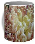 Curled Flower Coffee Mug