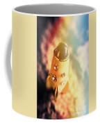 Flight Of Space Fiction Coffee Mug