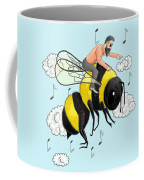 Flight Of The Bumblebee By Nicolai Rimsky Korsakov Coffee Mug