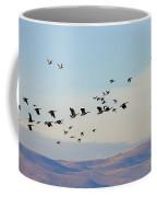 Flight Of The Waterfowl Coffee Mug