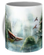Flight Through The Mountains Coffee Mug by Brandy Woods