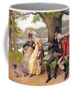 Flirtation, C1810 Coffee Mug