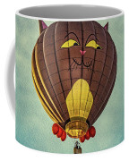 Floating Cat - Hot Air Balloon Coffee Mug
