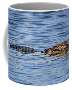 Floating Gator Coffee Mug