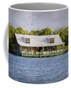 Floating House In La Parguera Puerto Rico Coffee Mug