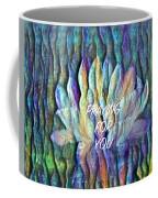 Floating Lotus - Praying For You Coffee Mug