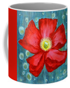 Floating Poppy Coffee Mug
