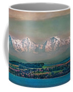 Floating Swiss Alps Coffee Mug