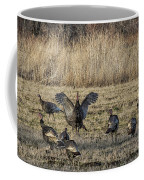 Flock Of Wild Turkeys Coffee Mug