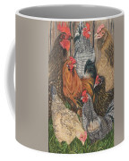 Flocked Coffee Mug