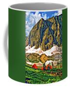 Floe Lake Painted Coffee Mug