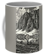 Floe Lake Sepia Coffee Mug