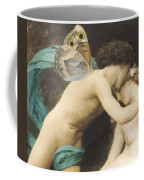 Flora And Zephyr Coffee Mug by William Adolphe Bouguereau