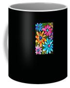 Floral Art - Big Flower Love - Sharon Cummings Coffee Mug