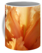 Floral Art Orange Iris Flower Sunlit Baslee Troutman Coffee Mug