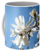Floral Art Print Landscape Magnolia Tree Flowers White Baslee Troutman Coffee Mug