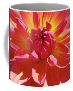 Floral Art Prints Orange Pink Dahlia Flower Baslee Troutman Coffee Mug