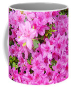 Floral Art Prints Pink Azalea Garden Landscape Baslee Troutman Coffee Mug