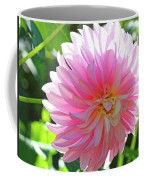 Floral Art Prints Pink Dahlias Sunlit Baslee Troutman Coffee Mug