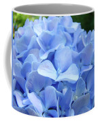 Floral Artwork Blue Hydrangea Flowers Baslee Troutman Coffee Mug