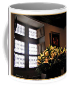 Floral At Chenonceau Coffee Mug