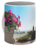 Floral Beach Coffee Mug