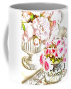 Floral Bouquets Pink Roses  Coffee Mug