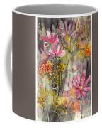 Floral Cosmos Coffee Mug