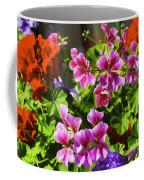 Floral Design 5 Dark Coffee Mug