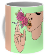 Floral Emission Coffee Mug