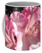 Floral Fine Art Prints Pink Rhodie Flower Baslee Troutman Coffee Mug