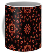 Floral Fire Tapestry Coffee Mug